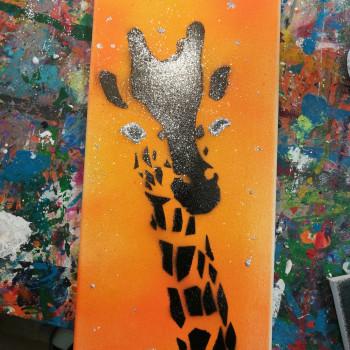 Graffiti im Atelier von entdeckungsarten