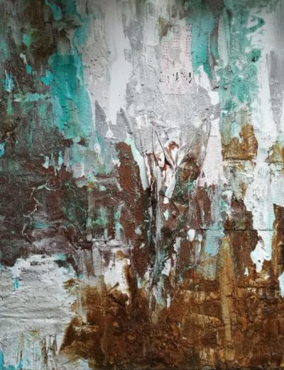Kunst im Atelier von entdeckungsarten