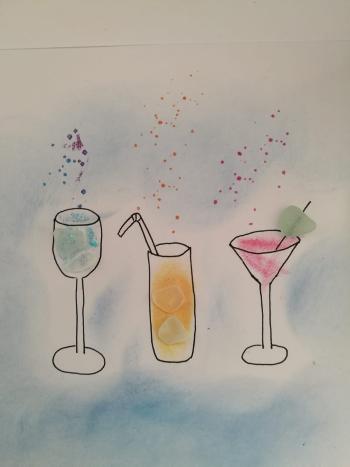 Seaglass im Atelier von entdeckungsarten